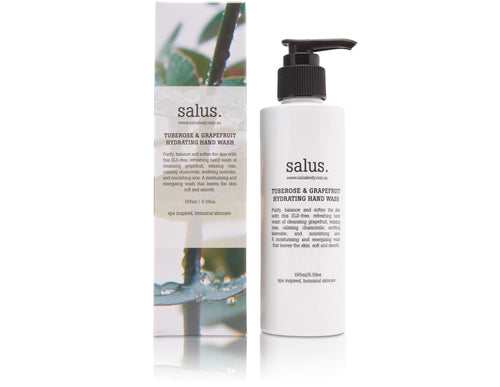 Salus Tuberose & Grapefruit Hydrating Hand Wash Luxe Gift & Decor