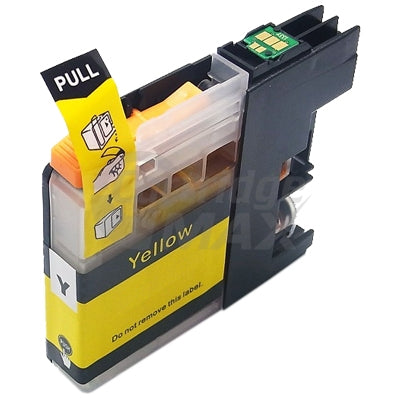 Brother LC-235XLY Generic Yellow High Yield Ink Cartridge