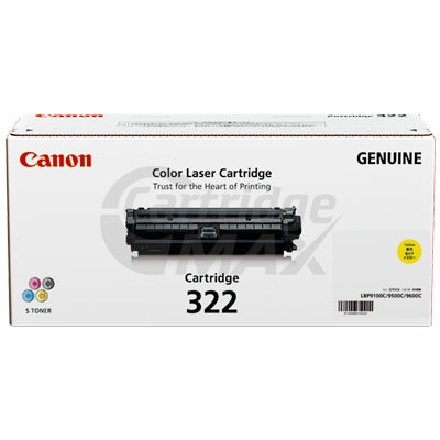 Canon Original Yellow Toner Cartridge (CART-322Y)