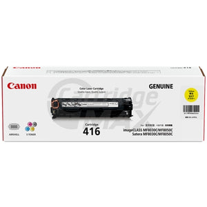 Original Canon CART-416 Yellow Toner Cartridge