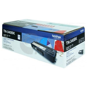 Original Brother TN-340BK Black Toner Cartridge