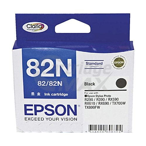 Original Epson T1121 82N Black Ink Cartridge