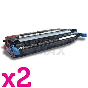 2 x HP Q6460A (644A) Generic Black Toner Cartridge - 12,000 Pages