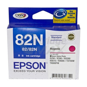 Original Epson T1123 82N Magenta Ink Cartridge