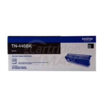 Original Brother TN-446BK Black Toner Cartridge