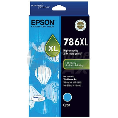 Epson 786XL Original Cyan Ink Cartridge - 2,000 pages [C13T787292]