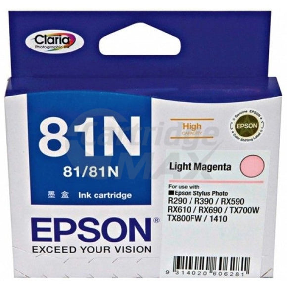 Original Epson T0816 81N HY Light Magenta Ink Cartridge - 805 pages [C13T111692]