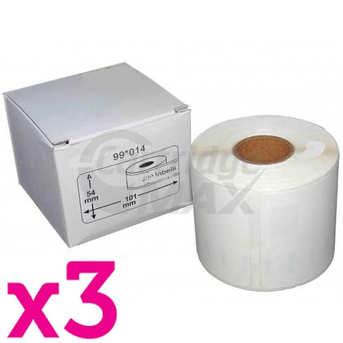 REFRESH CARTRIDGES LABELS S0722430  COMPATIBLE WITH DYMO PRINTERS