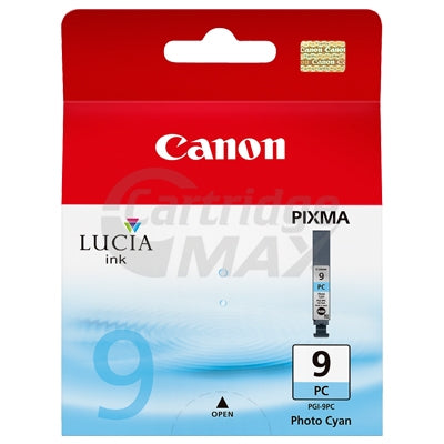 Canon PGI-9PC Photo Cyan Original InkJet Cartridge