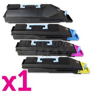 4 Pack Compatible TK-884 Toner Cartridges For Kyocera FS-C8500DN [1BK,1C,1M,1Y]