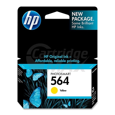 HP 564 Original Yellow Inkjet Cartridge CB320WA - 300 Pages