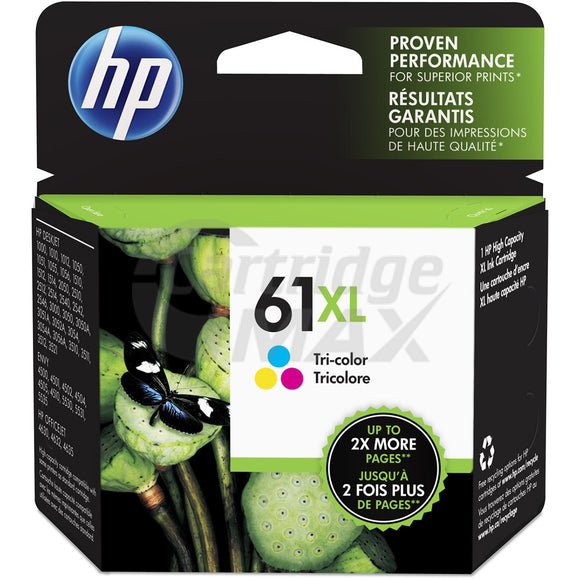 HP 61XL Original Colour High Yield Inkjet Cartridge CH564WA - 330 Pages