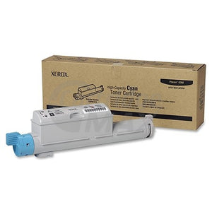 Fuji Xerox Phaser 6360 Original Cyan Toner Cartridge - 12,000 pages (106R01218)