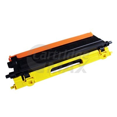Brother TN-155Y Generic Yellow Toner Cartridge - 4,000 pages (TN155 is High Capacity Version of TN150)