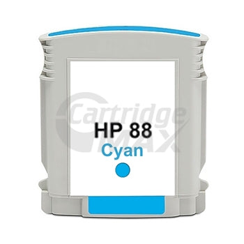 HP 88XL Generic Cyan High Yield Inkjet Cartridge C9391A  - 1,700 Pages