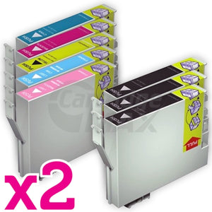 16 Pack Generic Epson 81N Series Ink Combo [6BK,2C,2M,2Y,2LC,2LM]