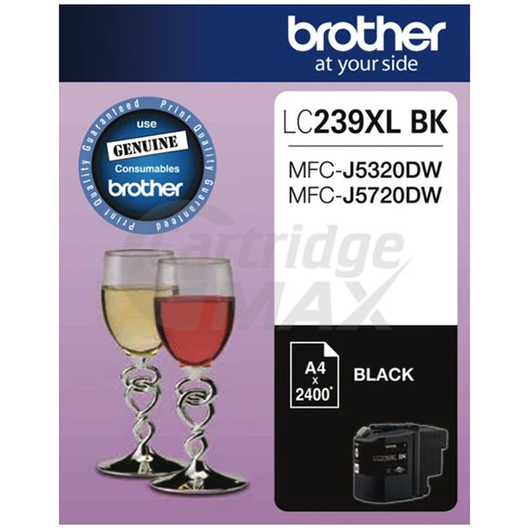 Original Brother LC-239XLBK High Yield Black Ink Cartridge