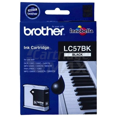 Original Brother LC-57BK Black Ink Cartridge