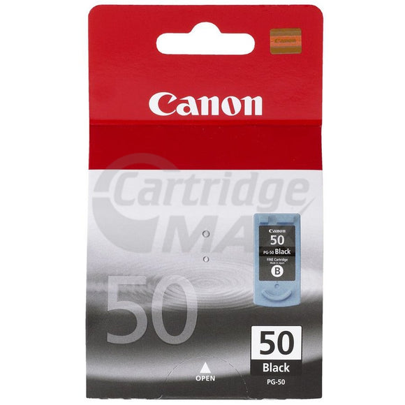 Original Canon PG-50 Black High Yield Ink Cartridge
