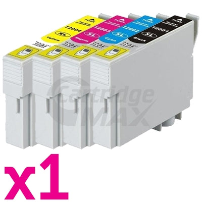 4 Pack Generic Epson 220XL (C13T294192-C13T294492) High Yield Ink Combo [1BK,1C,1M,1Y]