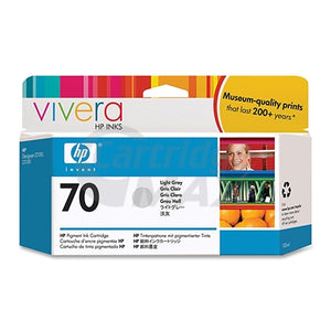 HP 70 Original Light Grey Inkjet Cartridge C9451A