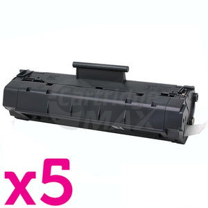 5 x Canon EP-22 Black Generic Toner Cartridge