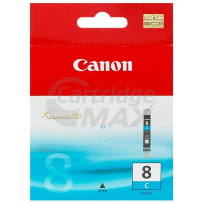 Original Canon CLI-8C Cyan Inkjet Cartridge