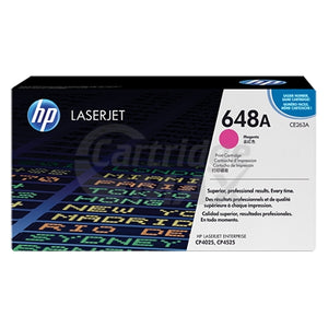 HP CE263A (648A) Original Magenta Toner Cartridge - 11,000 Pages