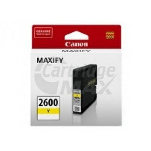 Canon PGI-2600Y Original Yellow Ink Cartridge