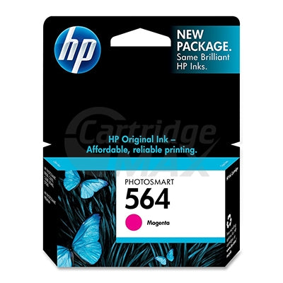 HP 564 Original Magenta Inkjet Cartridge CB319WA - 300 Pages