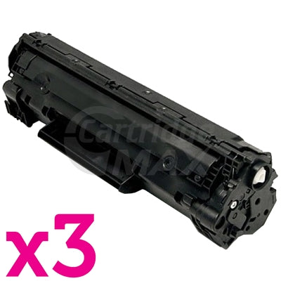 3 x Canon CART-312 Black Generic Toner Cartridge 2,000 Pages(Extra High Capacity)