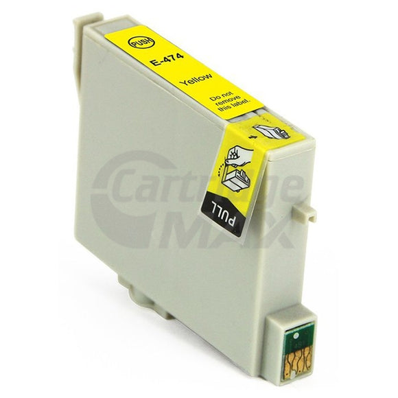Generic Epson T0474 Yellow Ink Cartridge