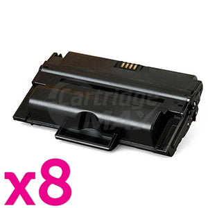8 x Fuji Xerox Phaser 3435 Generic Black High Yield Toner - 10,000 pages (CWAA0763)