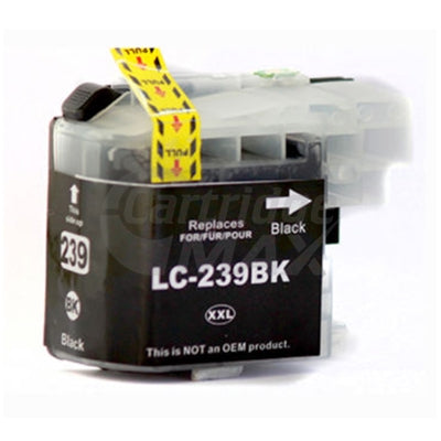 Brother LC-239XLBK High Yield Black Generic Ink Cartridge