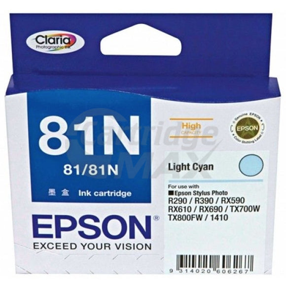 Original Epson T0815 81N HY Light Cyan Ink Cartridge - 805 pages [C13T111592]