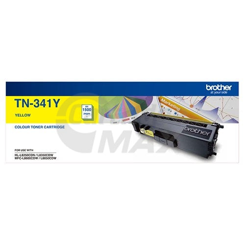 Original Brother TN-341Y Yellow Toner Cartridge