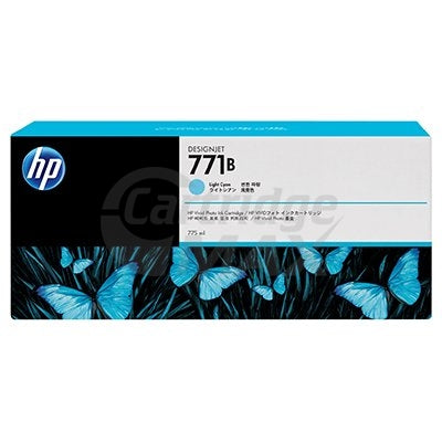 HP 771 Original Light Cyan 775ML Inkjet Cartridge B6Y04A