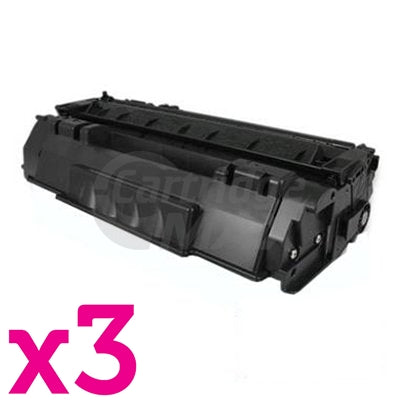 3 x Generic Canon CART-315II High Yield Black Toner Cartridge 7,000 Pages