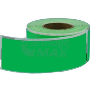 Dymo SD99010 Generic Green Label Roll 28mm x 89mm - 130 labels per roll