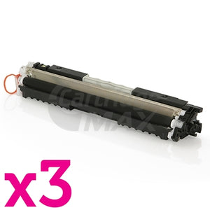 3 x HP CF350A (130A) Generic Black Toner Cartridge - 1,300 Pages