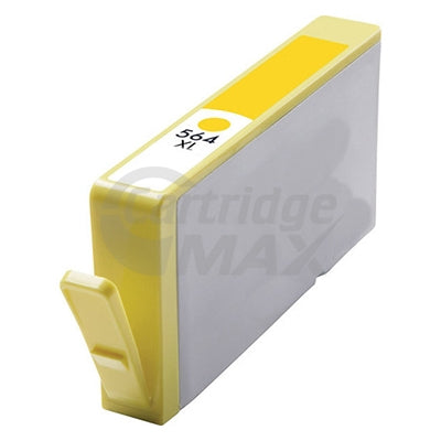 HP 564XL Generic Yellow High Yield Inkjet Cartridge CB325WA - 750 Pages