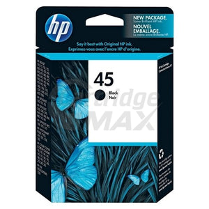 HP 45 Original Black Inkjet Cartridge 51645AA