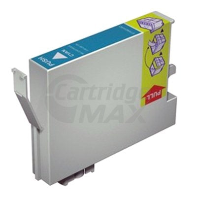 Generic Epson T0812 81N HY Cyan Ink Cartridge - 855 pages [C13T111292]