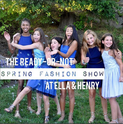 Event Spring Fashion Show at Ella & Henry - New Canaan CT, Feb 25th