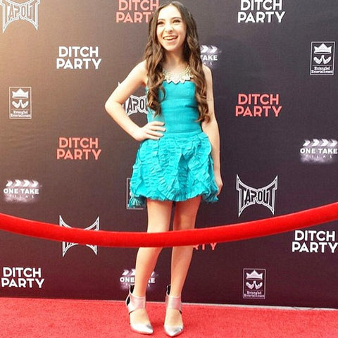 "RED CARPET WATCH: Ava Cantrell @ ""Ditch Party"" Premiere in LA"
