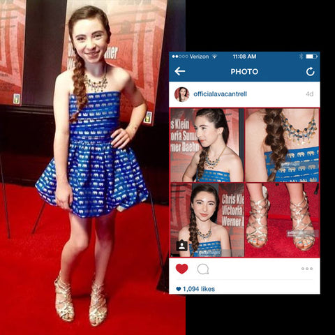 "RED CARPET WATCH: Ava Cantrell @ ""Out of the Blue"" Premiere in LA"