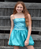 Bat Mitzvah Sequin Sparkly Dress Calypso Sea
