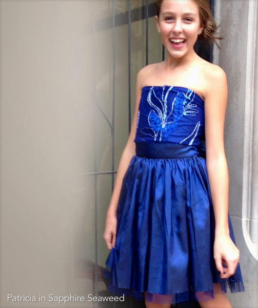 Patricia Strapless Formal Dress For Tweens And Teens