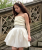 Ivory Tube Top Cumberband Patricia Dress