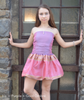 LIA (strapless party dress with bubble skirt)